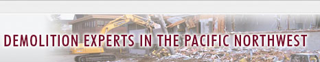 Demolition Experts In The Pacific Northwest